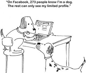 Facebook+Dog 40+ Hilarious Facebook Comic Strips