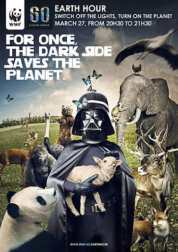 Darth Fladder l 27 Alarming Advertisements Dedicated to Earth Day | Part  2