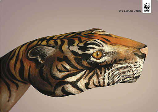 tiger 27 Alarming Advertisements Dedicated to Earth Day | Part  2