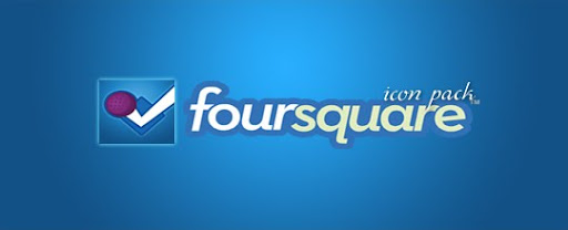 foursquare Logo Icon Social Icons PSD EPS AI vector