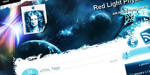 Red+Light+Physics+Blogger+template Blogger Template | Red Light (Physics)