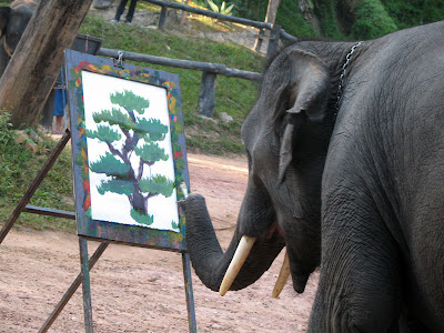 Elephants+creativity+paintings+%284%29 Creativity by Elephants! Believe this or not!