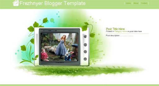 Frezhnyer Huge Compilation of Best Blogger Templates Released in 2010 | Blogspot Toolbox