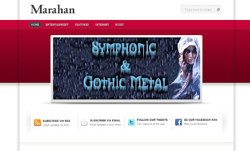 Marahan Huge Compilation of Best Blogger Templates Released in 2010 | Blogspot Toolbox