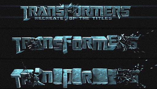 Transformers+Titles+in+Cinema+4D+tut Ultimate Round Up of Exceptional Cinema 4D Tutorials and Screencasts