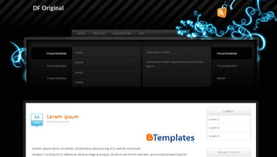 DfOriginal Blogger template