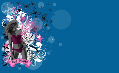 Girl Power Background by ArtandMore Twitter Backgrounds handPicked from DeviantArt