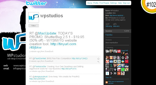 wpstudios 100+ Incredible Twitter Backgrounds