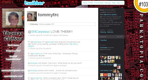 tommytrc 100+ Incredible Twitter Backgrounds