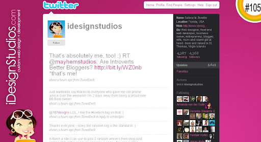 idesignstudios 100+ Incredible Twitter Backgrounds