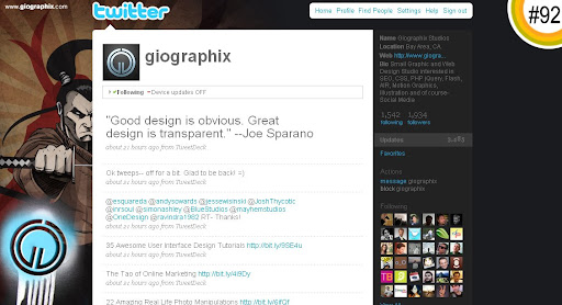 giographix 100+ Incredible Twitter Backgrounds