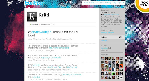 Krftd 100+ Incredible Twitter Backgrounds
