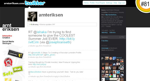 arnteriksen 100+ Incredible Twitter Backgrounds