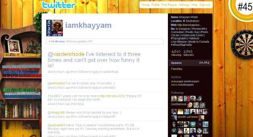 iamkhayyam 100+ Incredible Twitter Backgrounds