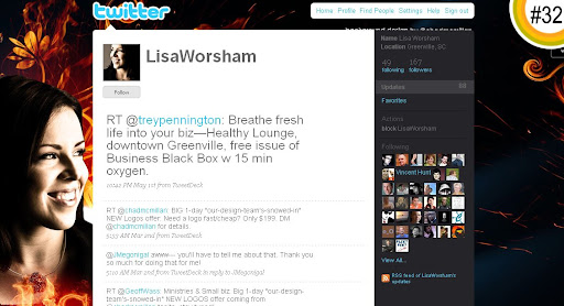LisaWorsham 100+ Incredible Twitter Backgrounds