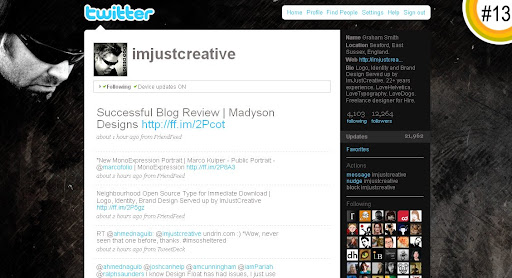 imjustcreative 100+ Incredible Twitter Backgrounds