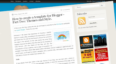 Themes+and+Style Build A Blogger Template from Scratch   Ultimate Guide  PART1