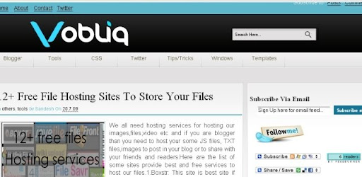 Vobliq Featured On BloggerLuxe
