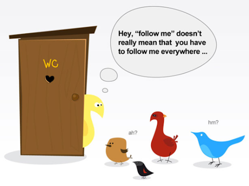 follow+me+everywhere+twitter+comic 50+ Most Amazing and Funny Twitter Comics