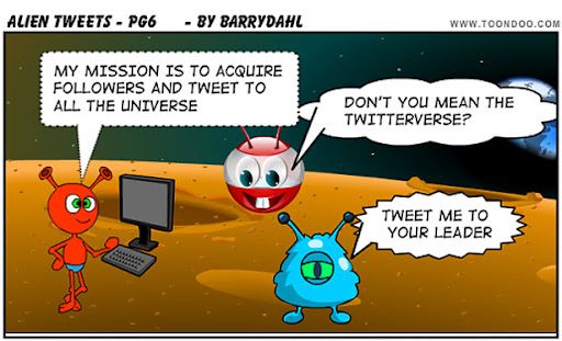 alien+tweets 50+ Most Amazing and Funny Twitter Comics