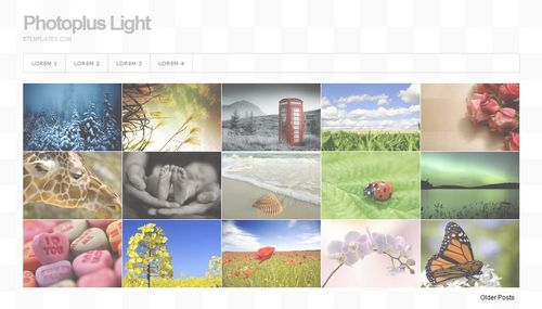 Photoplus Light 40+ New and Fresh Blogger Templates