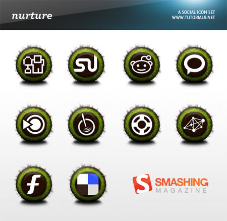 free+beautiful+social+icons+blogs+%284%29 Social Network Icons Reloaded