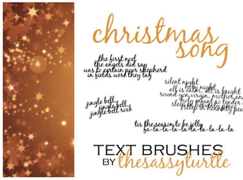 christmas+brushes+%282%29 Design + Christmas = oh my! Inspirational Resources!