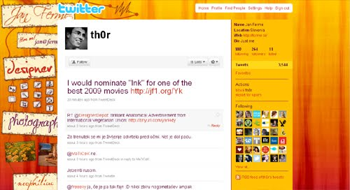 Inspiration Reloaded!-  44 Best Twitter Background Themes