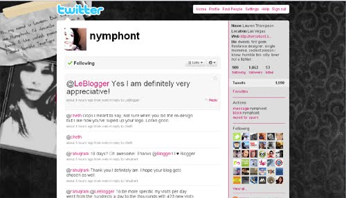 nymphont Inspiration Reloaded!   44 Best Twitter Background Themes