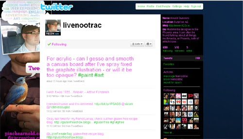 livenootrac Inspiration Reloaded!   44 Best Twitter Background Themes