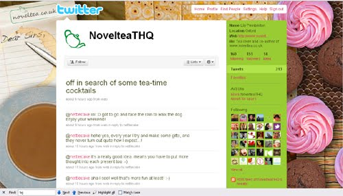 NovelteaTHQ Inspiration Reloaded!   44 Best Twitter Background Themes