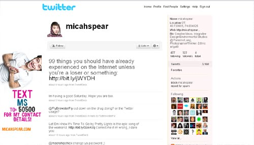 micahspear Inspiration Reloaded!   44 Best Twitter Background Themes
