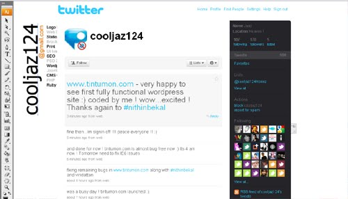 cooljaz124 Inspiration Reloaded!   44 Best Twitter Background Themes