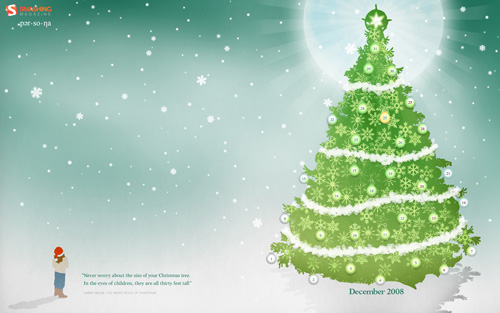 Beautiful Christmas Wallpapers- Design Inspiration