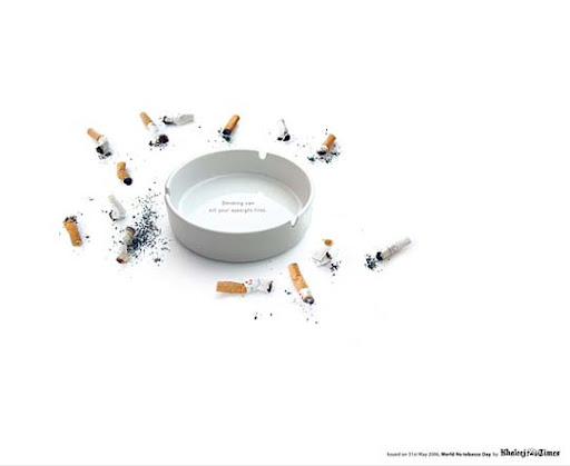 Terrible+eyesight 65 Creative Anti Smoking Ad Campaigns Dedicated to World No Tobacco Day