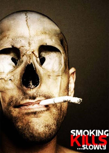 smoking+kills+slowly 65 Creative Anti Smoking Ad Campaigns Dedicated to World No Tobacco Day