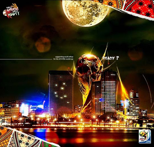 Kenako+Africa+ +Lady+in+the+City+on+the+Behance+Network FIFA World Cup South Africa 2010 Wallpapers, Posters and Fan Art