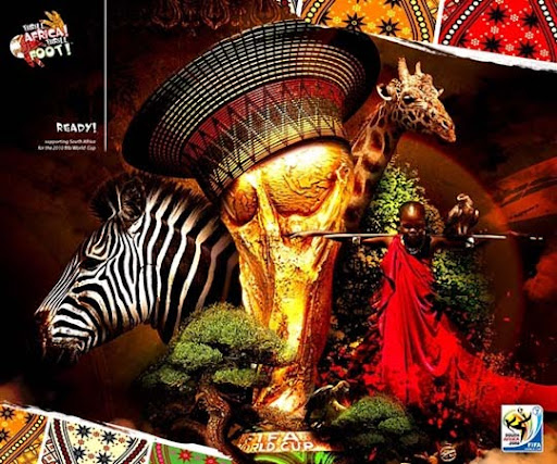 Kenako+Africa+ +Zulu+Queen+on+the+Behance+Network FIFA World Cup South Africa 2010 Wallpapers, Posters and Fan Art