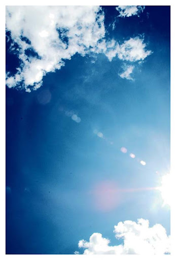Blue blue sky by Eevee90 Beautifully Blue: Color Photography Inspiration
