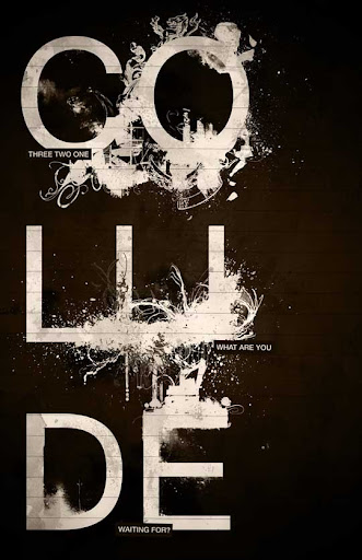 COLLIDE by crashfusion Spectacular Examples of Typography / Text Art