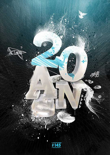 Twenty by aiiven Spectacular Examples of Typography / Text Art