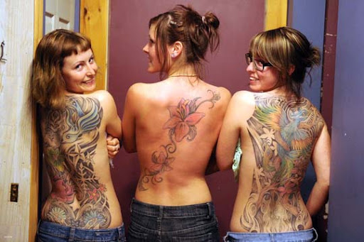 5 2  Tattoos   French Sisters by hoshq Incredible Tattoo Designs and Body Art to Inspire You