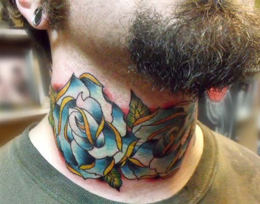 my neck by oldschool sinner Incredible Tattoo Designs and Body Art to Inspire You