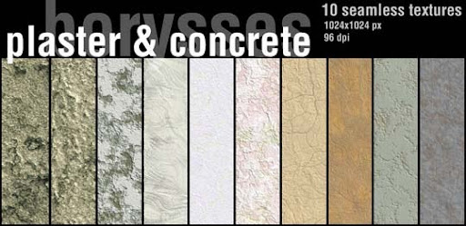 Plaster and concrete by borysses 15+ Useful Concrete Texture Packs for Designers
