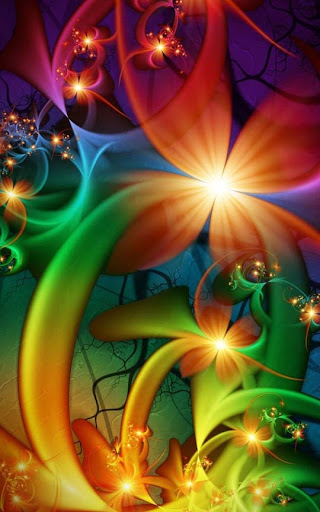 Wonderland Technicolor by magnusti78 60 Spectacular Fractal Art Examples