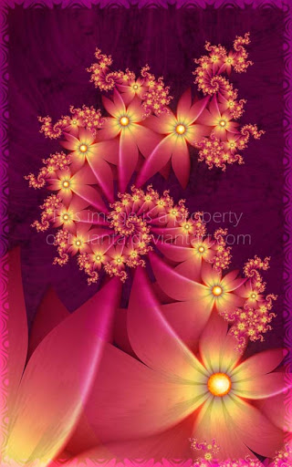 Heat flowers by Liuanta 60 Spectacular Fractal Art Examples