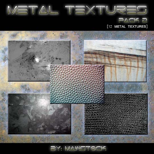 12 METAL TEXTURES   PACK 2 by mawstock 60+ Free Metallic Textures Handpicked from DeviantArt
