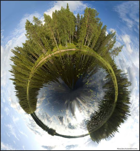Planet Runtti by theviita Mesmerising Planet Panoramic Photography