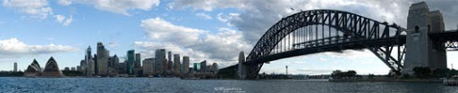 Panorama of Sydney Skyline II by IAMSORRY87 Stunning Horizontal Panoramic Shots | Photography Inspiration