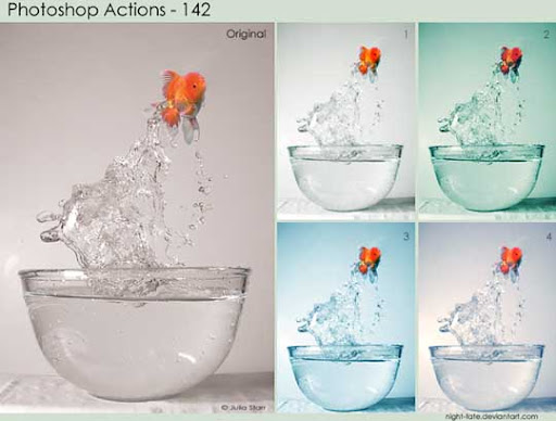 photoshop actions   142 by night fate The Ultimate Collection Of 500+ Useful Free Photoshop Actions